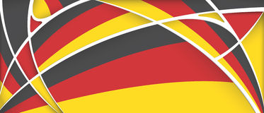 Abstract background with colors of Germany flag. Vector image Royalty Free Stock Photos