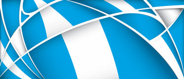 Abstract background with colors of Guatemala flag. Vector image Royalty Free Stock Images