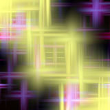 Abstract background in colors and lines. Abstract lines and background with crosses in yellow and violet hues, abstract background and design Royalty Free Stock Photos