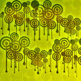 Abstract background. With colourful circles Royalty Free Stock Photos