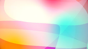 Abstract background from colourful huge shapes. Glassy and transparent surfaces Royalty Free Stock Photo