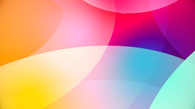 Abstract background from colourful huge shapes. Glassy and transparent surfaces Stock Photos
