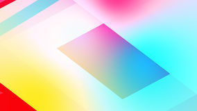 Abstract background from colourful huge shapes. Glassy and transparent surfaces Stock Images