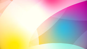 Abstract background from colourful huge shapes. Glassy and transparent surfaces Royalty Free Stock Photography