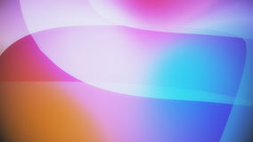 Abstract background from colourful huge shapes. Glassy and transparent surfaces Royalty Free Stock Photos