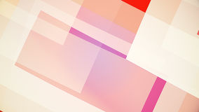 Abstract background from colourful huge shapes. Glassy and transparent surfaces Royalty Free Stock Images