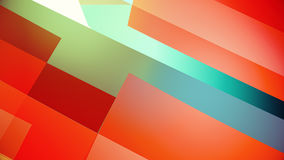 Abstract background from colourful huge shapes. Glassy and transparent surfaces Stock Photography