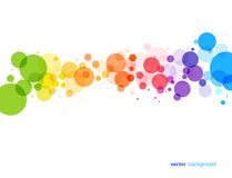 Abstract background. Colourful abstract background. Vector illustration Royalty Free Stock Images