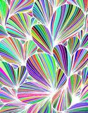 Abstract background is composed of colored petals of flowers. Vector Royalty Free Stock Image