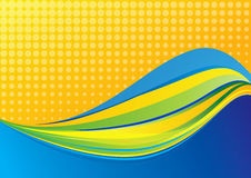 Abstract background composition vector illustration