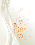 Abstract background composition. Light colors vector illustration