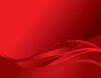 Abstract background composition. On red vector illustration