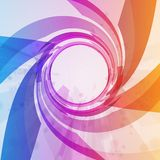 Abstract background, colorful elements. Stock Photography