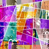 Abstract background composition, Royalty Free Stock Images