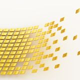 Abstract background composition Stock Image