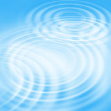 Abstract background with concentric ripples. Abstract bright blue background with concentric water ripples stock illustration