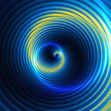 Abstract background of concentric swirling circles creating an illusion of movement Royalty Free Stock Photo