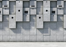 Abstract background of the concrete Stock Images