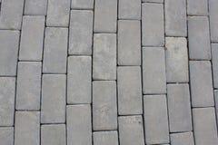 Abstract Background Concrete Garden Blocks Floor Stock Photo