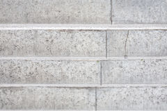 Abstract background - concrete light grey stairs. Stock Photos
