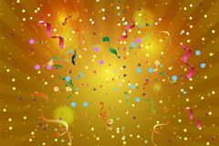 Abstract background of confetti. Backdrop Stock Photos