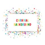 Abstract background with confetti. Abstract background with many tiny confetti. Falling confetti Stock Photography