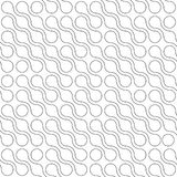 Abstract background of connected dots in diagonal arrangement on white background. Molecule theme wallpaper. Seamless. Pattern vector illustration royalty free illustration