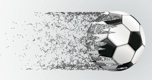 Abstract Background Connected Dots Football Royalty Free Stock Photos