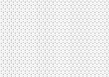 Abstract background of connecting hexagons and circles. Abstract network background of connecting hexagons and circles Stock Photos