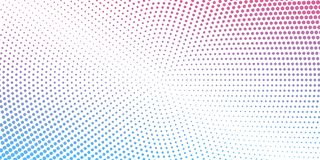 Abstract background consist of color circles. Dotted concept des. Ign for business. Modern ackground in halftone style with radial colored spots stock illustration