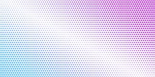Abstract background consist of color circles. Dotted concept des. Ign for business. Modern ackground in halftone style with colored spots royalty free illustration