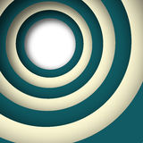 Abstract background consisting of a circle with shadow. Royalty Free Stock Image