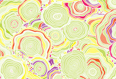 Abstract background consisting of colored patterns Stock Image