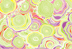 Abstract background consisting of colored patterns Stock Photo
