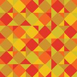 Abstract background consisting of colored squares and triangles. Vector vector illustration
