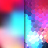 Abstract background. Consisting of geometrical shapes Royalty Free Stock Photo