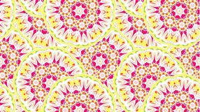 Abstract background consisting of mandalas. Vector Stock Photography