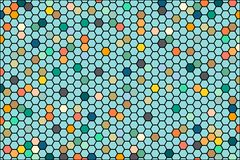 Abstract background consisting of set of hexagonal cells. Vector Graphics colorful for backgrounds banner presentation. Abstract background consisting of set of stock illustration