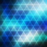 Abstract  background consisting of triangles Royalty Free Stock Images