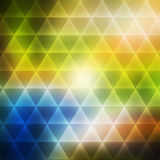 Abstract background consisting of triangles Royalty Free Stock Photography