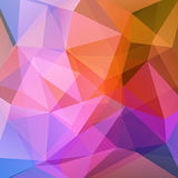 Abstract background. Consisting of triangles royalty free illustration