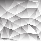 Abstract background consisting  triangles Stock Photography