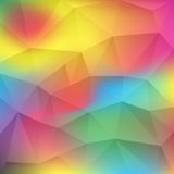 Abstract background consisting triangles Royalty Free Stock Images