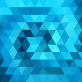 Abstract background. Consisting of triangles stock illustration