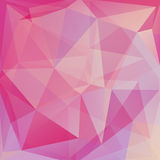 Abstract background. Consisting of triangles Royalty Free Stock Photos