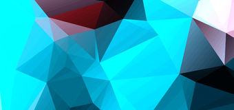 Abstract background consisting of triangles.  royalty free illustration