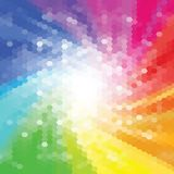 Abstract color background consisting of triangles. vector illustration eps 10 vector illustration