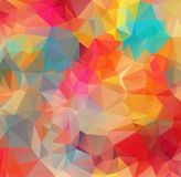 Abstract background consisting of triangles. Abstract mosaic background. Abstract White Polygonal Mosaic Background, Vector illust. Abstract background royalty free illustration