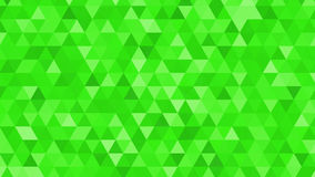 Abstract background consisting of triangles. Abstract background consisting triangles with different shades of green vector illustration