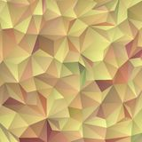Abstract background consisting of triangles. Geometric design for business presentations or web template banner flyer. Vector illustration. Pastel pink yellow vector illustration